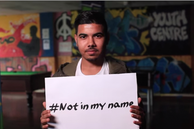 Instagram #NotInMyName