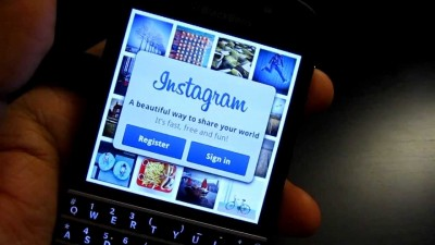 Instagram Blackberry